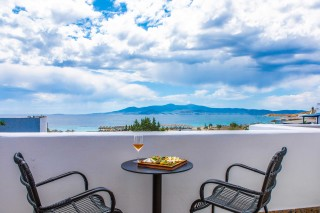 naxos hotel ariadne with sea view